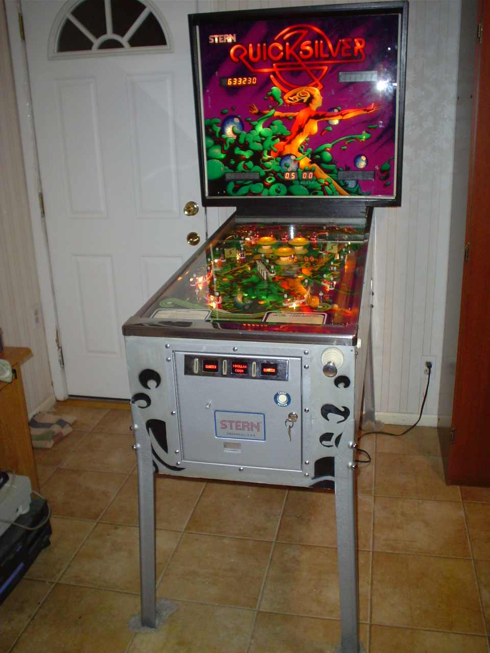 Stern Quicksilver Pinball Machine #1 - Pinballmania LLC
