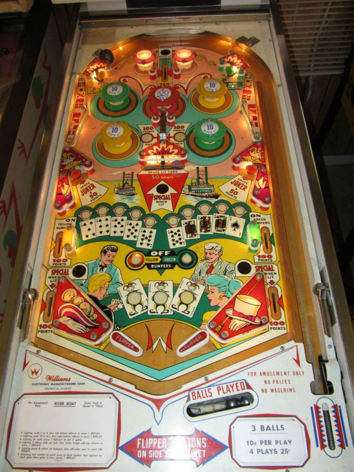 pinball machine parts williams