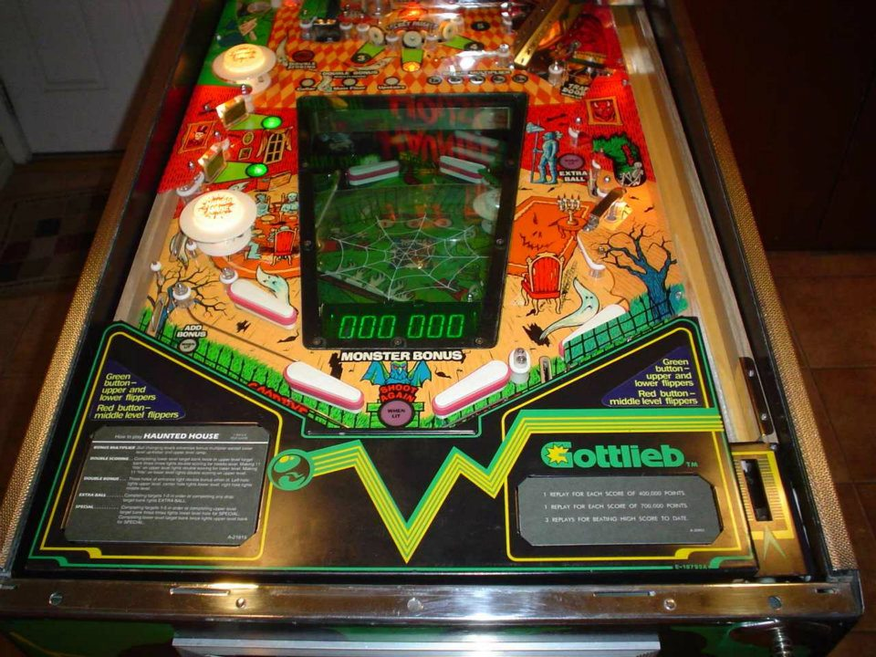 Gottlieb Haunted House Pinball Machine 2 Pinballmania Llc