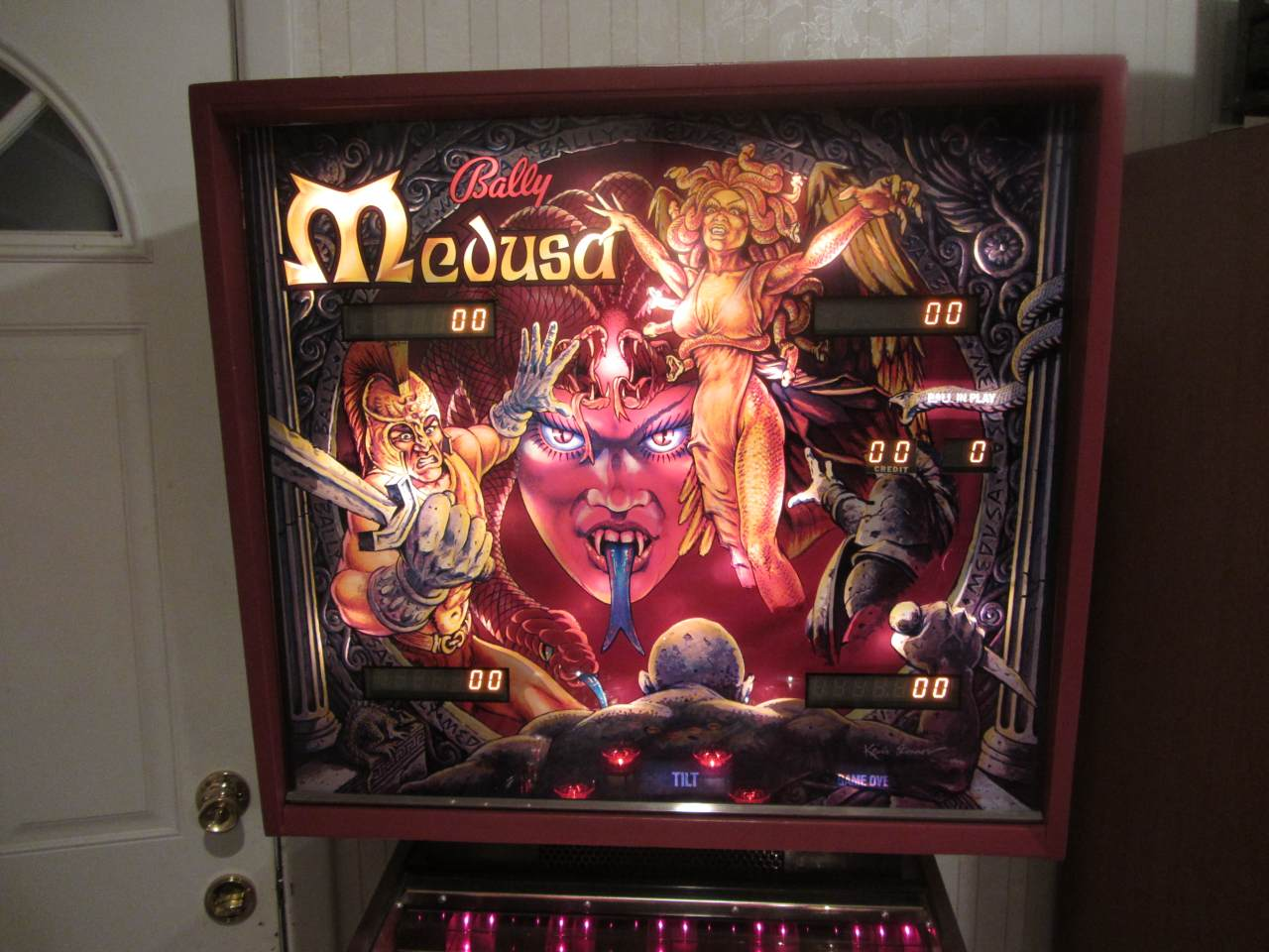 Bally Medusa Pinball Machine 2 Pinballmania Llc