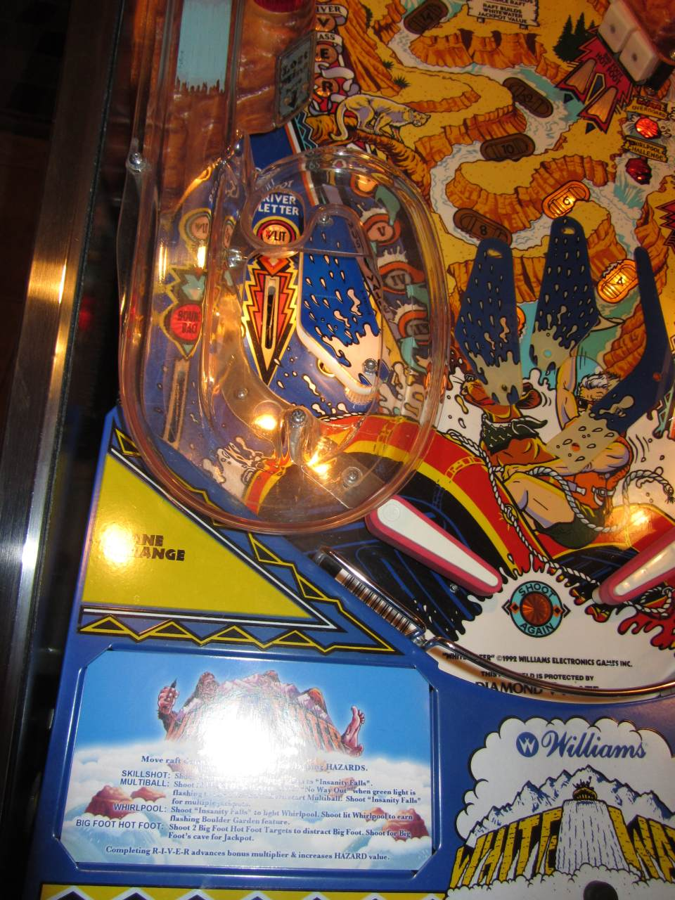 Williams White Water Pinball Machine 1 Pinballmania Llc