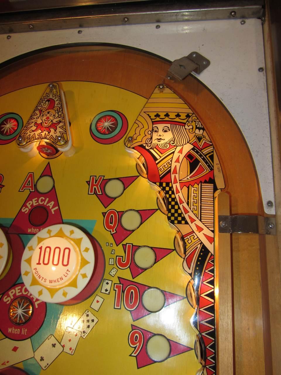Gottlieb Top Card Pinball Machine 1 Pinballmania Llc