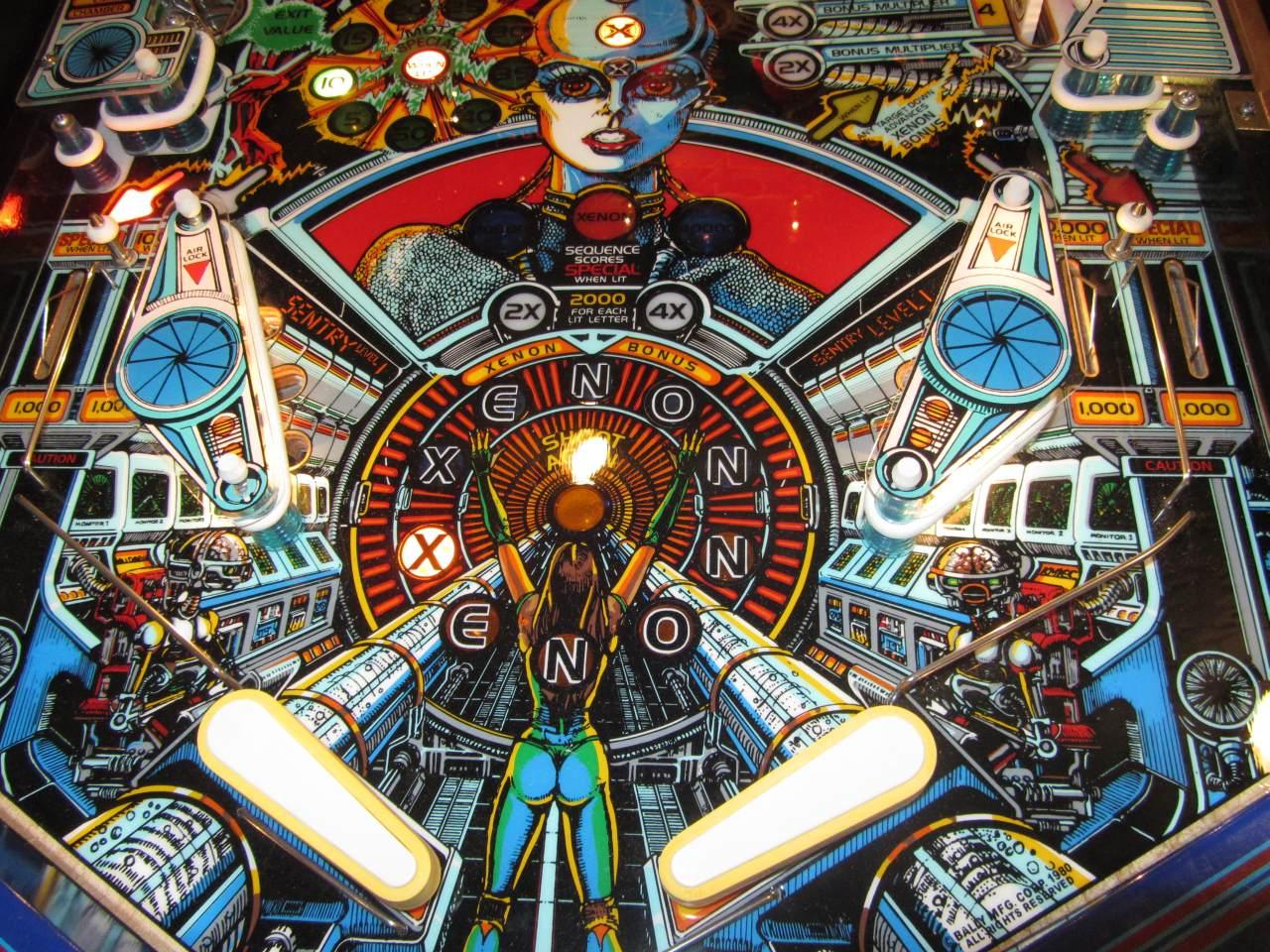 xenon pinball machine