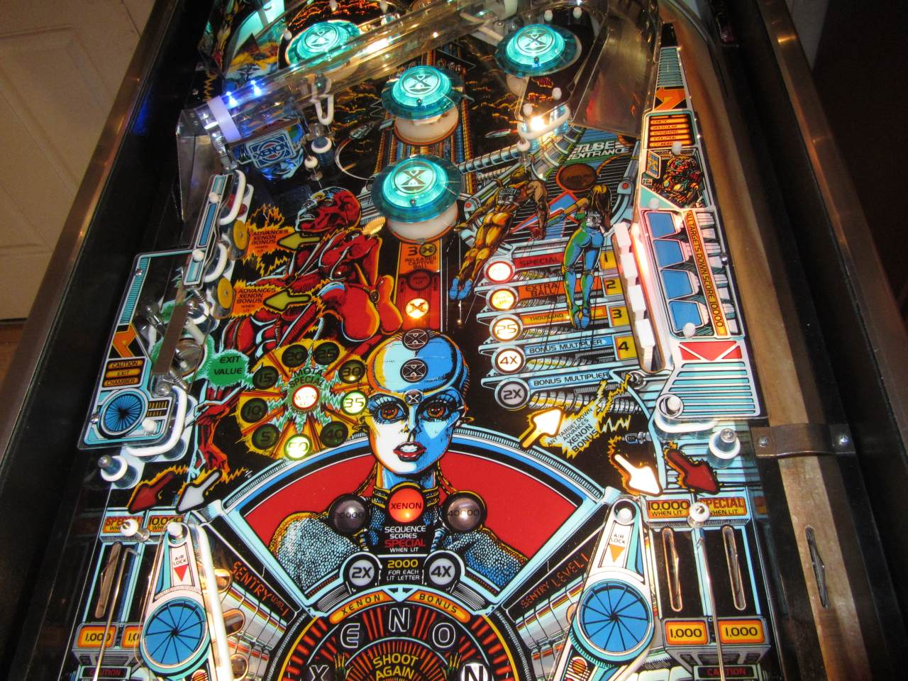 Bally Xenon Pinball Machine 2 Pinballmania Llc