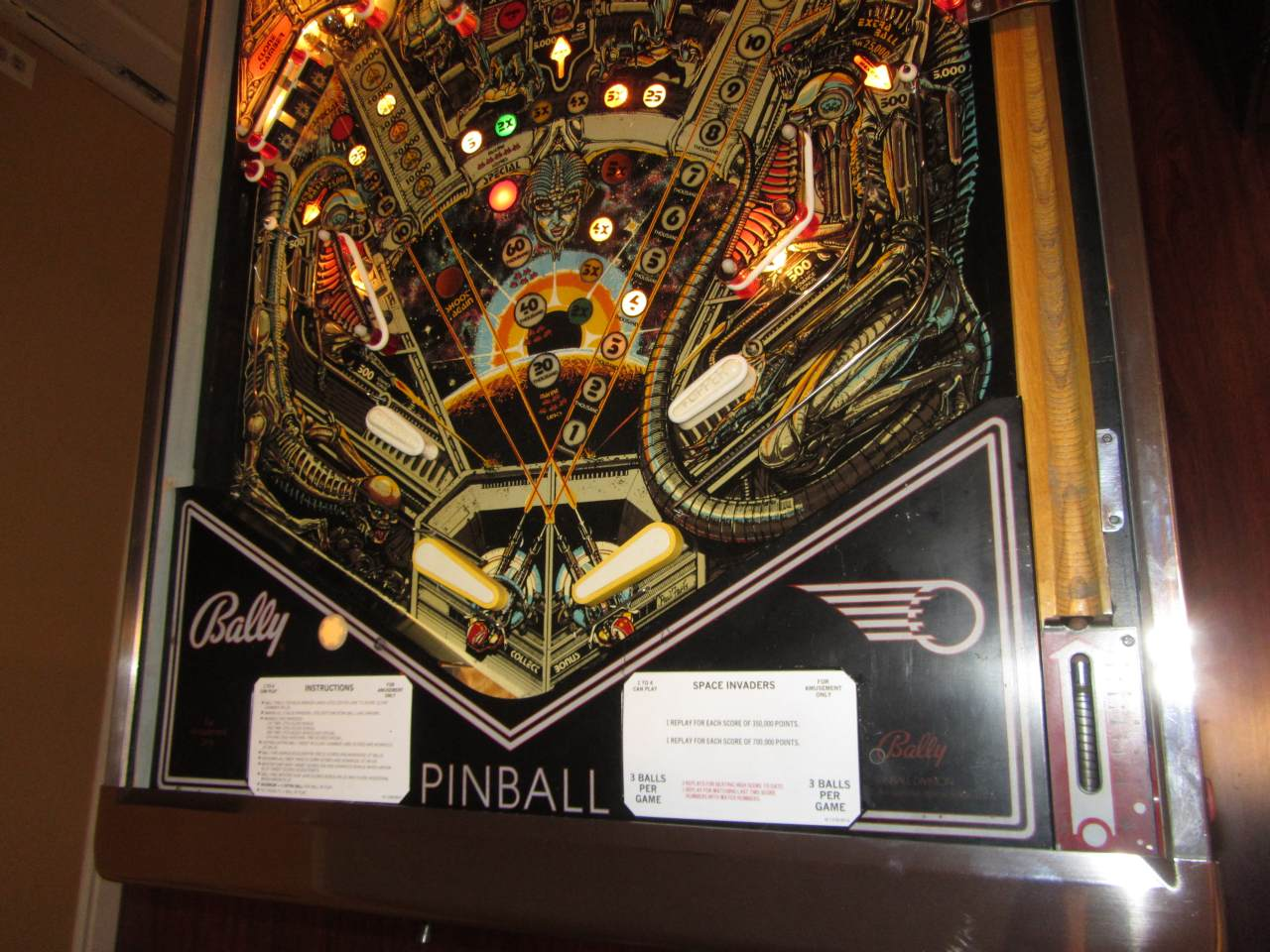 Bally Space Invaders Pinball Machine 3 Pinballmania Llc