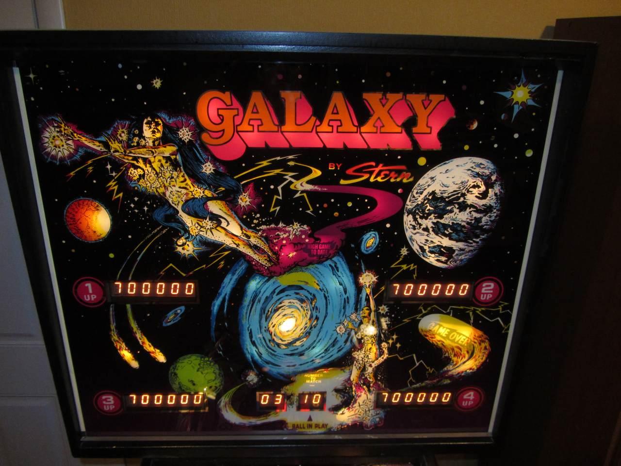 galaxy pinball machine for sale