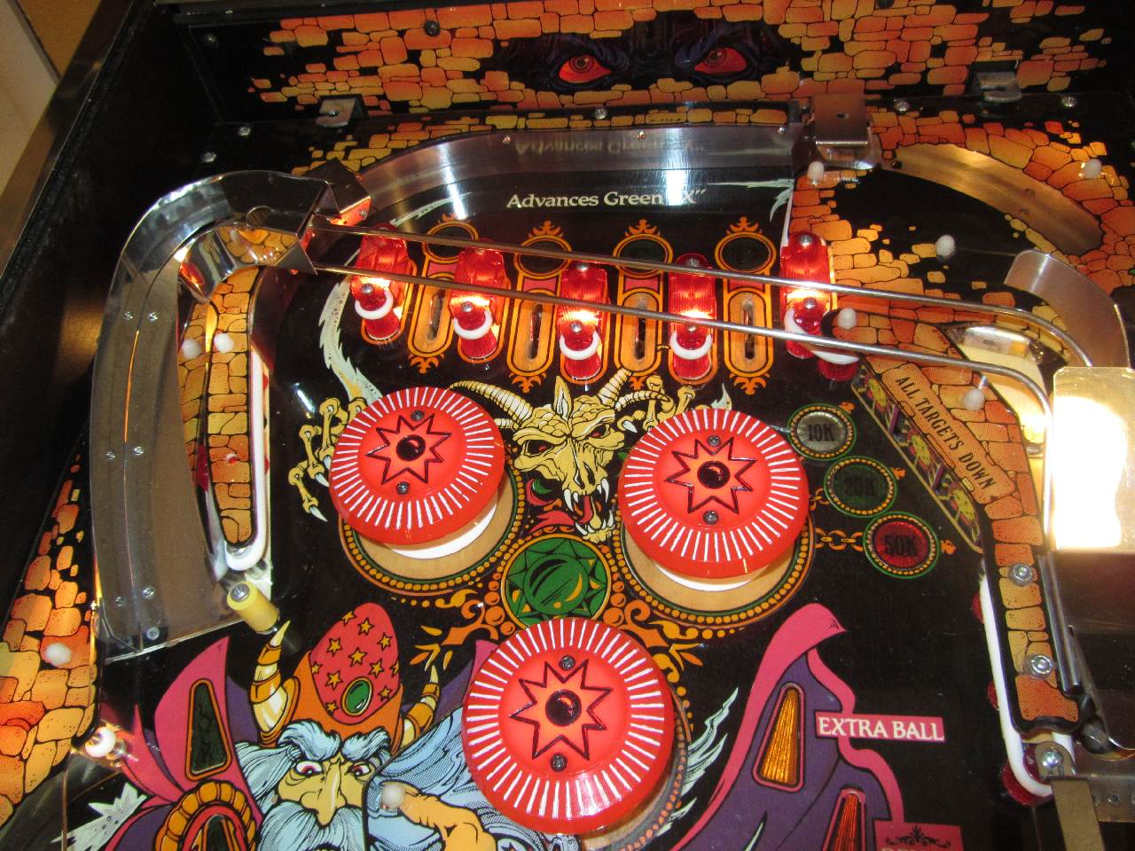 Williams Sorcerer Pinball Machine 1 Pinballmania Llc