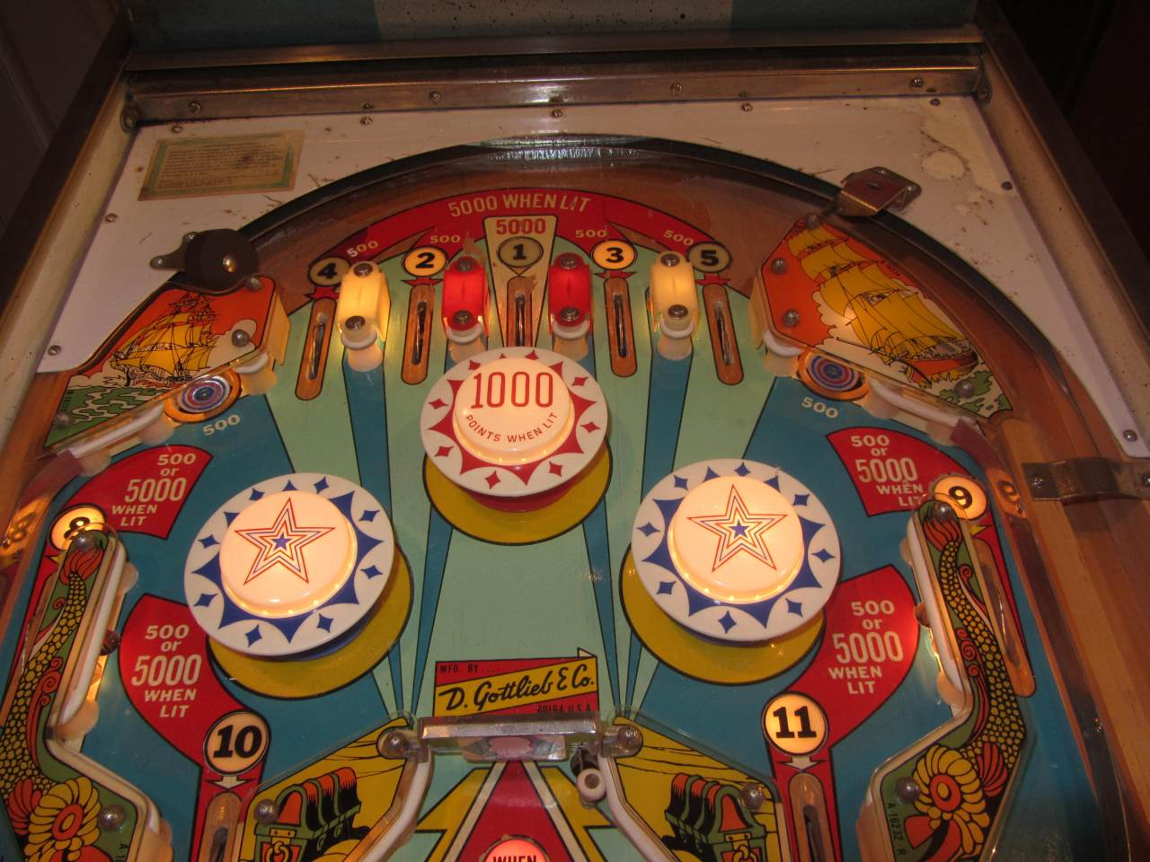 Gottlieb Buccaneer Pinball Machine 3 Pinballmania Llc