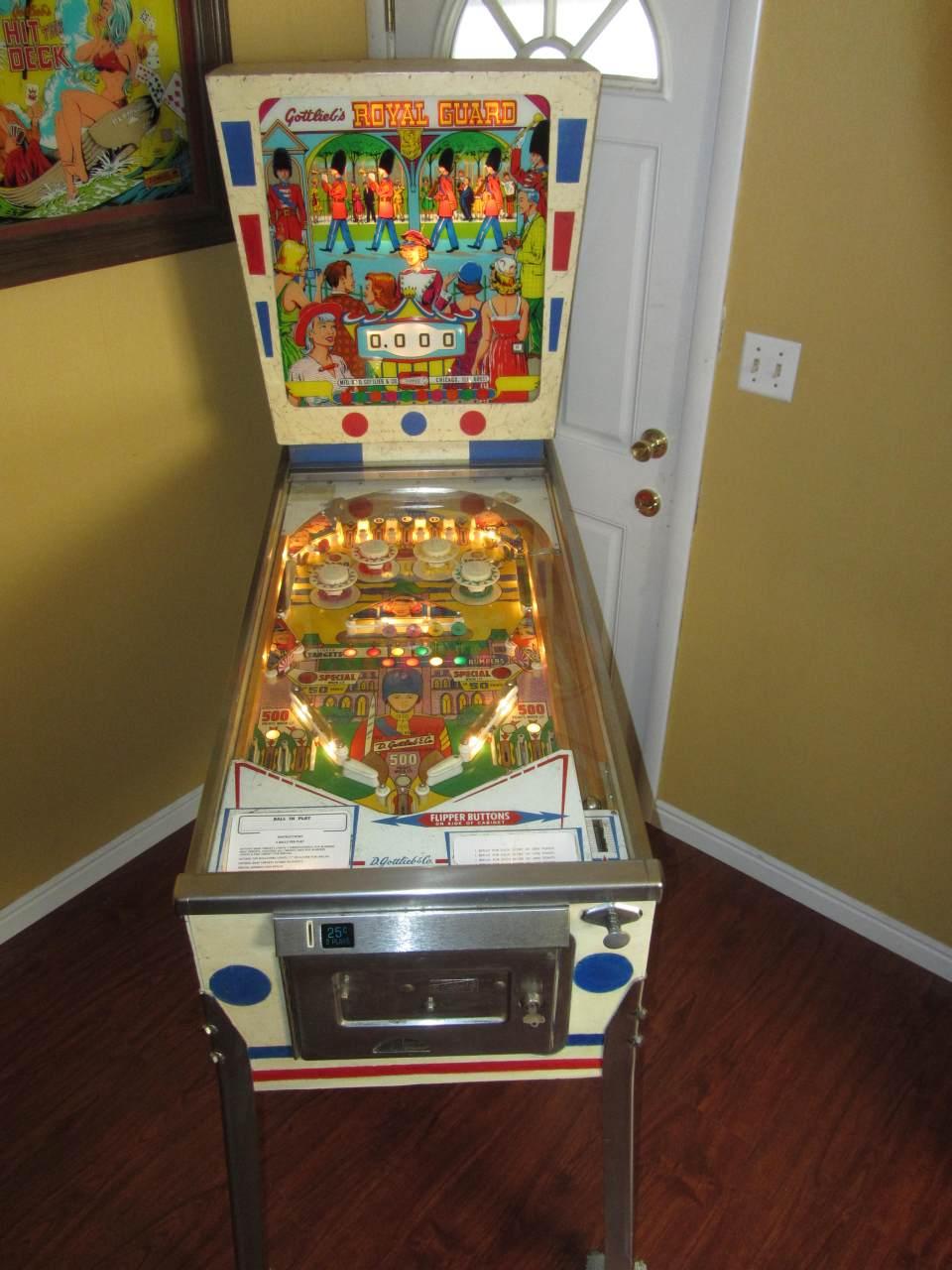 Gottlieb Royal Guard Pinball Machine 1 Pinballmania Llc