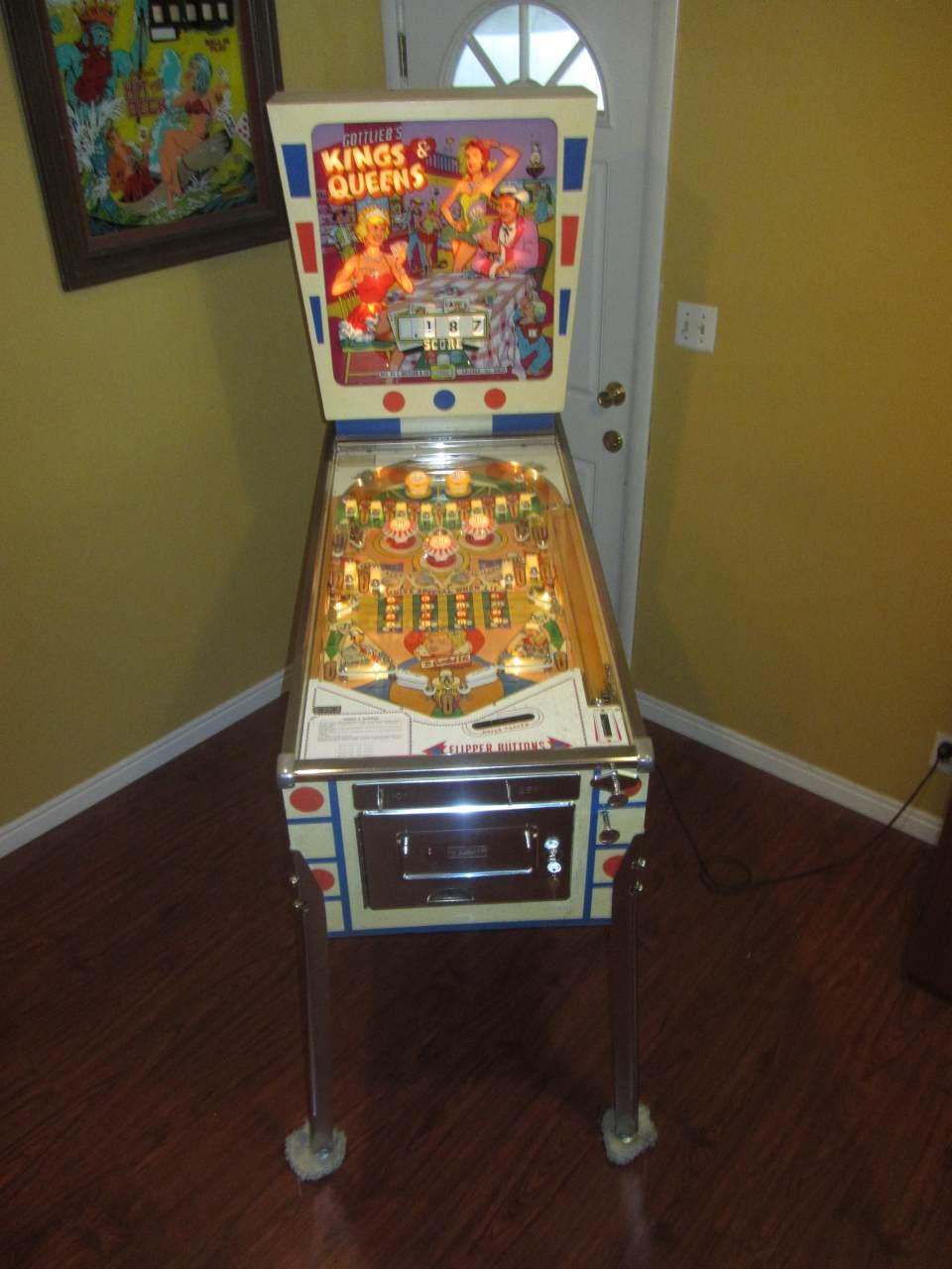 Gottlieb Kings and Queens Pinball Machine #1 - Pinballmania LLC