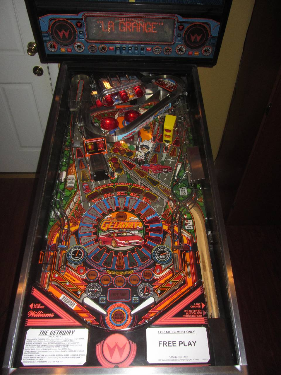 Williams The Getaway High Speed Ii Pinball Machine 2