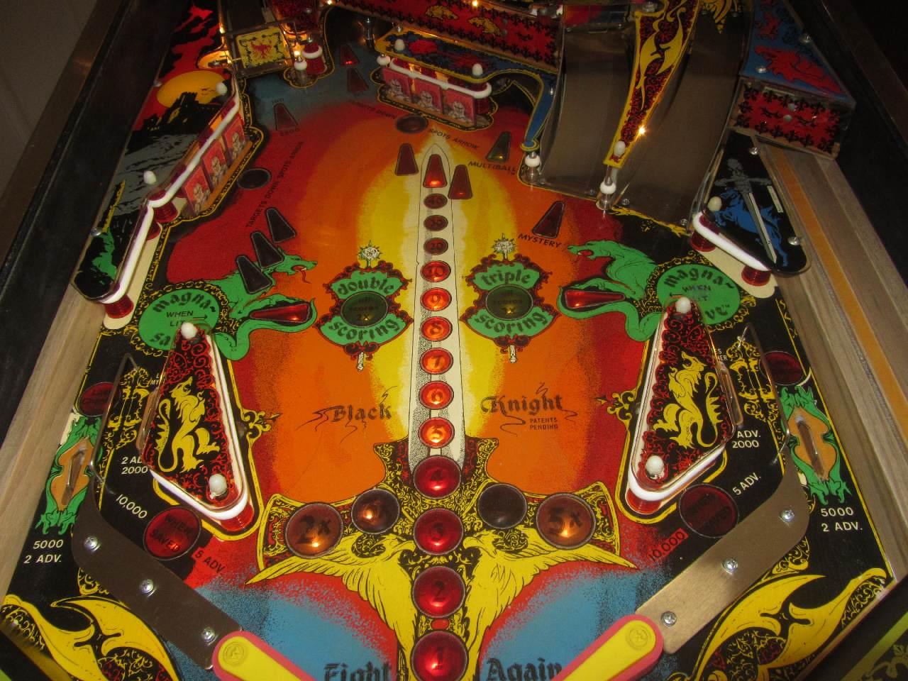 Williams Black Knight Pinball Machine 2 Pinballmania Llc