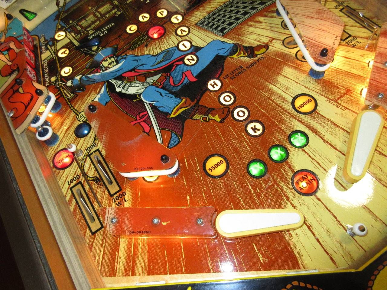 Game Plan Captain Hook Pinball Machine #1 - Pinballmania LLC