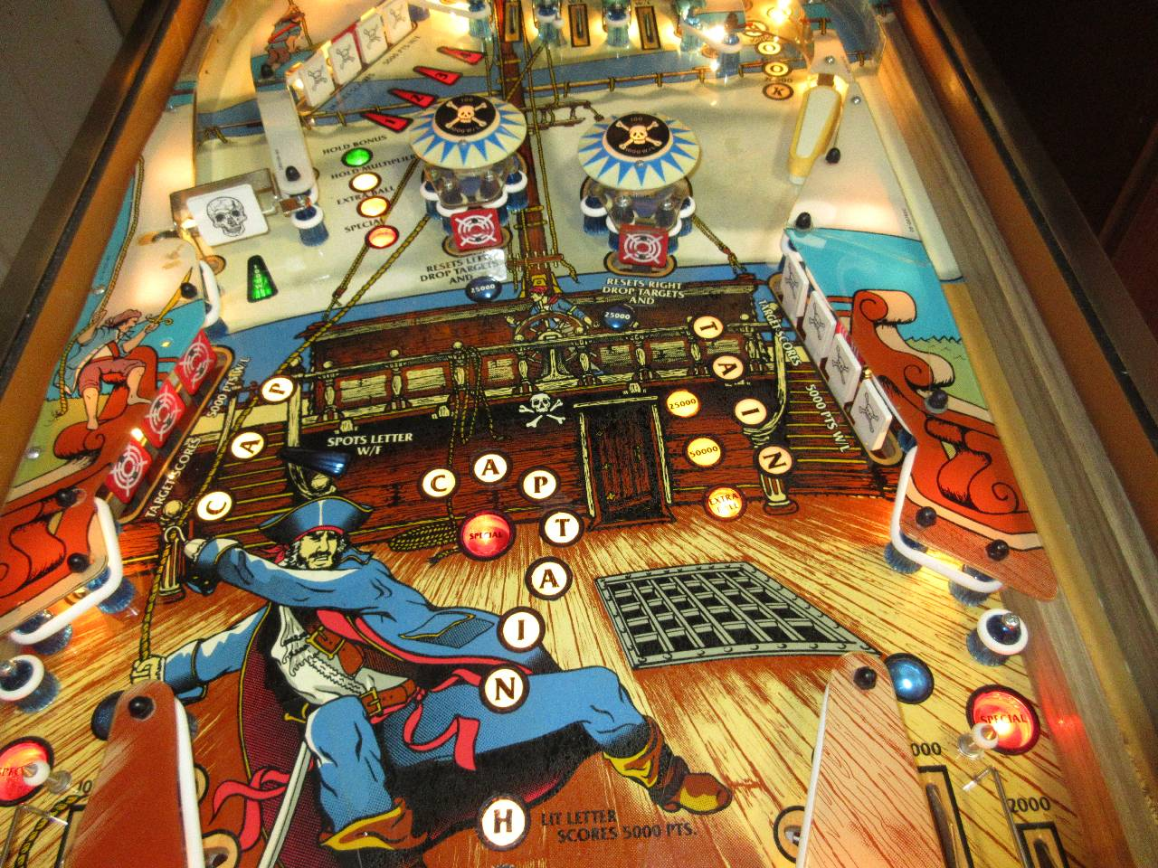 Game Plan Captain Hook Pinball Machine #1 - Pinballmania LLC